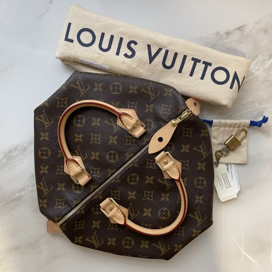 Louis Vuitton Monogram Speedy 30 NM