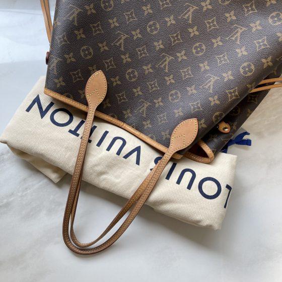 Louis Vuitton Monogram Neverfull GM Pivoine