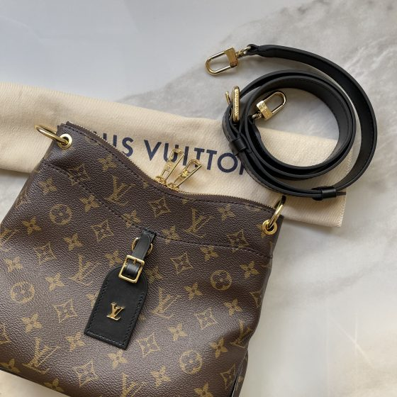 Louis Vuitton Monogram Odeon PM Black