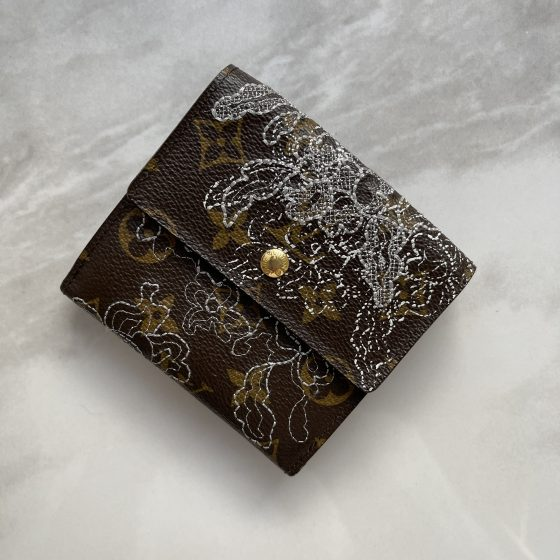 Louis Vuitton Elise Wallet Limited Edition Monogram Dentelle