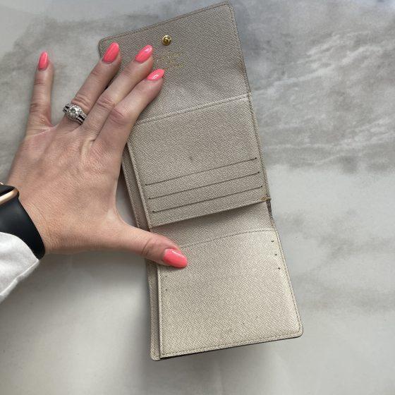 Louis Vuitton Elise Wallet Limited Edition Monogram Dentelle