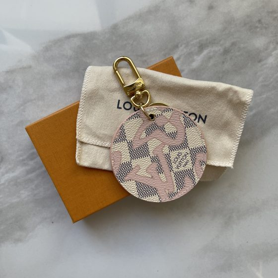 Louis Vuitton Damier Azur Limited Edition Tahitienne Charm