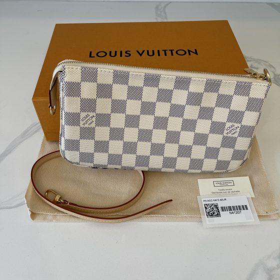 Louis Vuitton Damier Azur Pochette Accessories NM