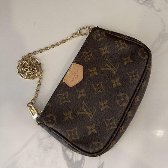 Louis Vuitton Monogram Multi Pochette Accessories Mini Pochette
