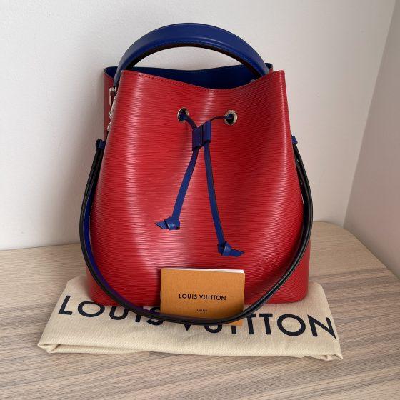 Louis Vuitton Epi Neonoe Poppy