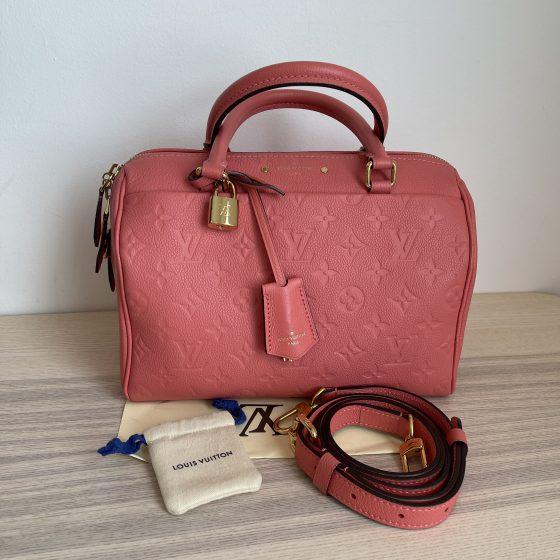 Louis Vuitton Empreinte Speedy Bandouliere 25 NM Pink