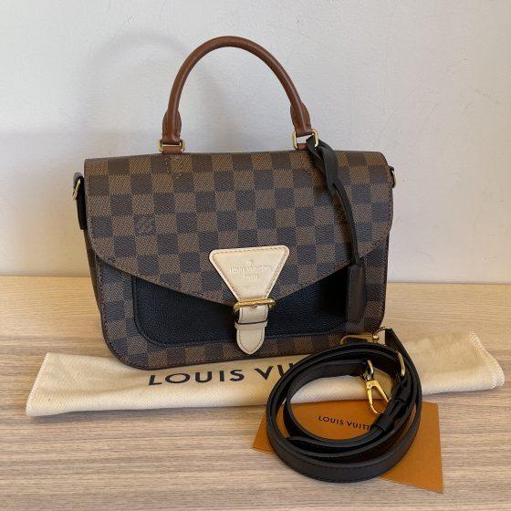 Louis Vuitton Damier Ebene Beaumarchais Black